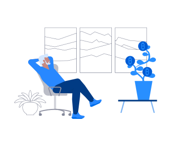 style Crypto Growth images in PNG and SVG | Icons8 Illustrations