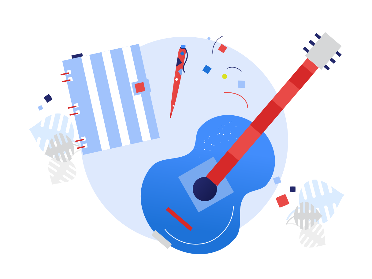 Songwriter  Clipart illustration in PNG, SVG