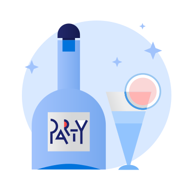 style Party coctails images in PNG and SVG | Icons8 Illustrations