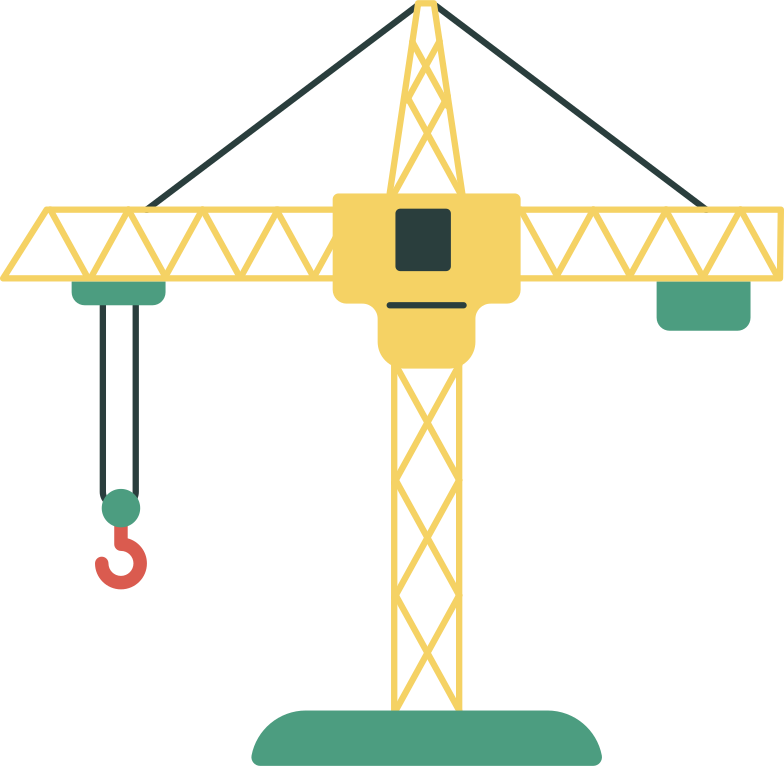 style construction crane Vector images in PNG and SVG | Icons8 Illustrations