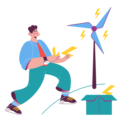 style Saving energy images in PNG and SVG | Icons8 Illustrations