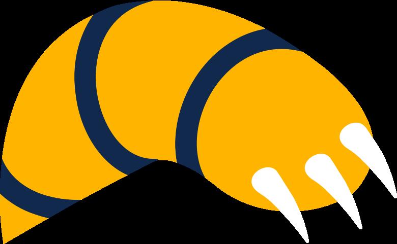Pata de tigre de gato Clipart illustration in PNG, SVG