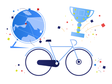 style World bike racing images in PNG and SVG | Icons8 Illustrations