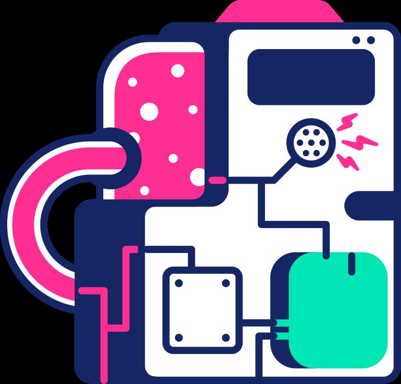 processor Clipart illustration in PNG, SVG
