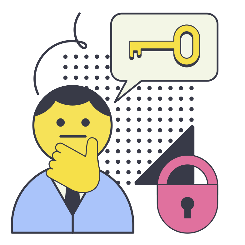 style Password recovery Vector images in PNG and SVG | Icons8 Illustrations