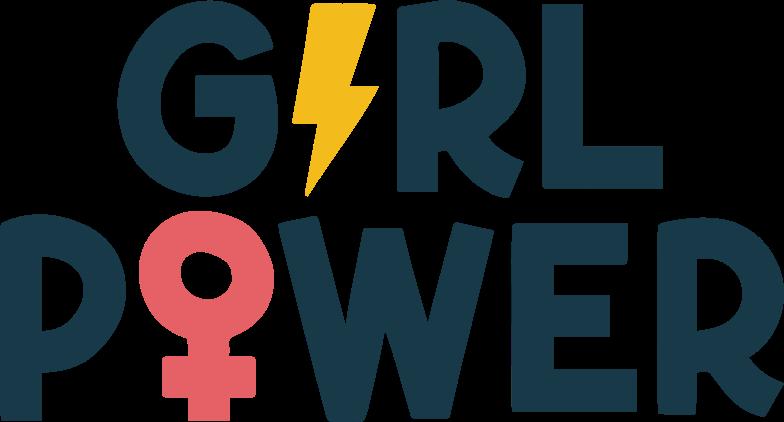 girl-power Clipart illustration in PNG, SVG