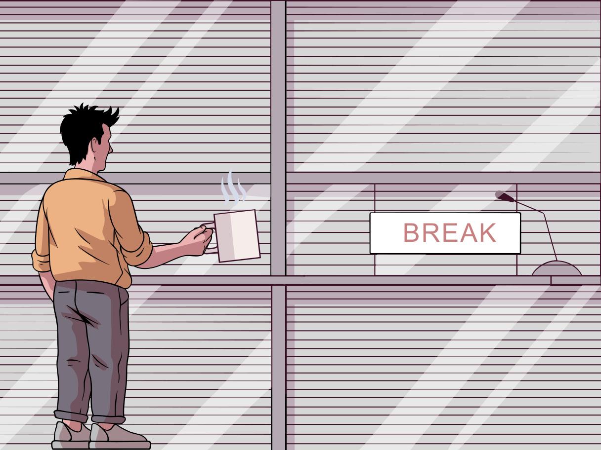 Break Clipart illustration in PNG, SVG