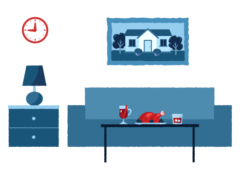 Home style Clipart illustration in PNG, SVG