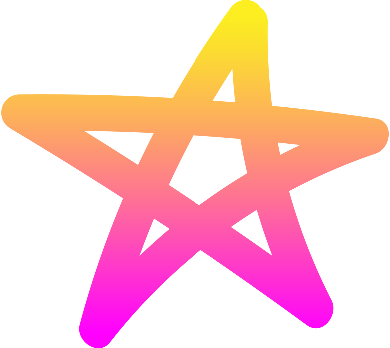 style rg pink yellow star Vector images in PNG and SVG | Icons8 Illustrations