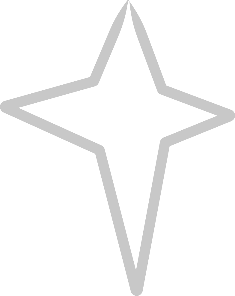 style tk line silver star Vector images in PNG and SVG | Icons8 Illustrations