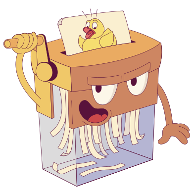 style Evil paper shredder images in PNG and SVG | Icons8 Illustrations
