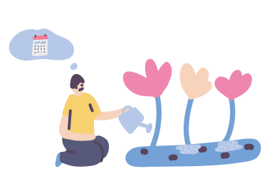 style It's time to water the flowers images in PNG and SVG | Icons8 Illustrations