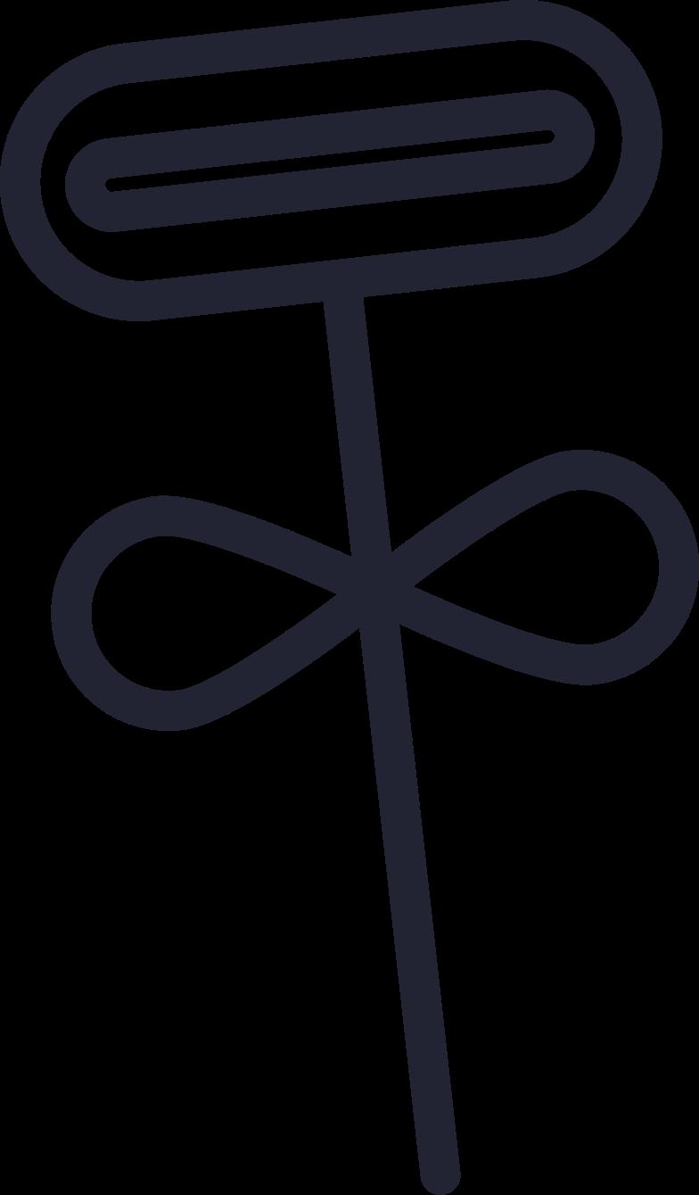 Ilustración de clipart de waiting  flower en PNG, SVG