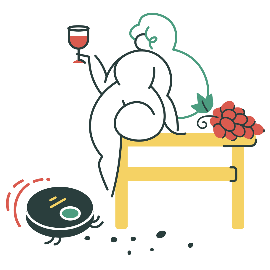 Enjoying free time Clipart illustration in PNG, SVG