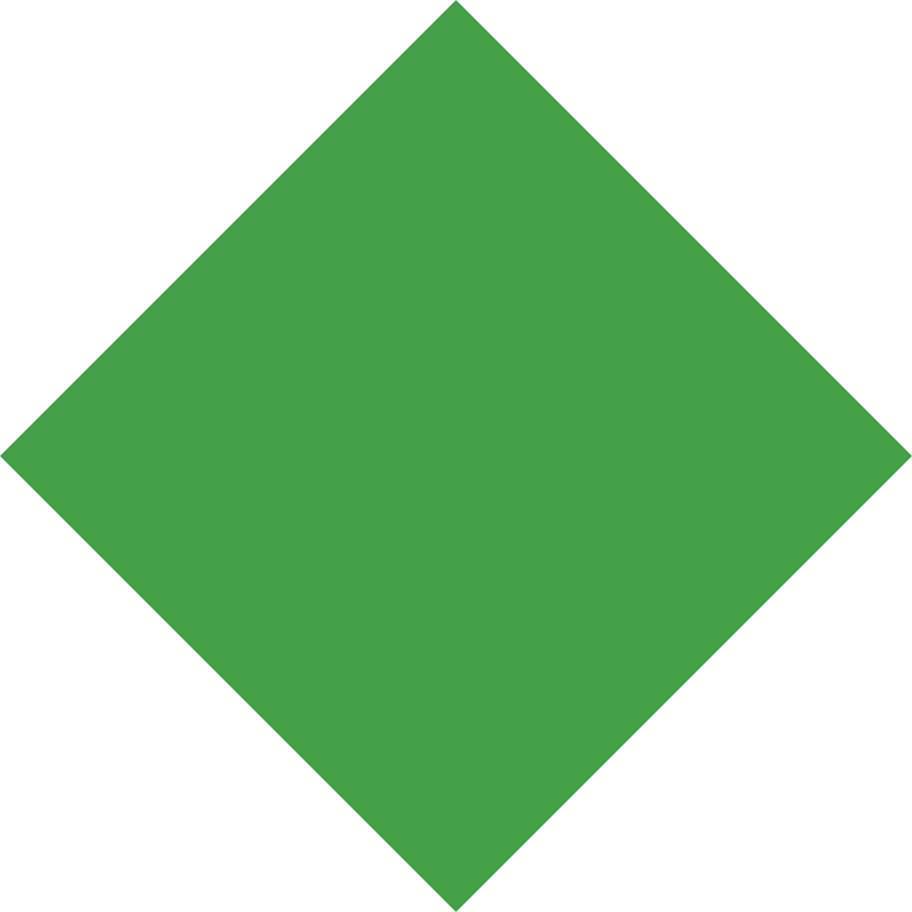 rhombus green Clipart illustration in PNG, SVG