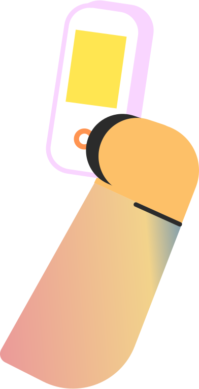 style hand with phone images in PNG and SVG   Icons8 Illustrations