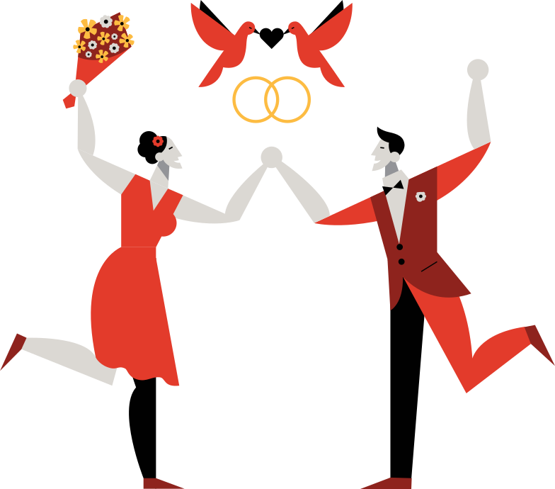 style wedding Vector images in PNG and SVG | Icons8 Illustrations