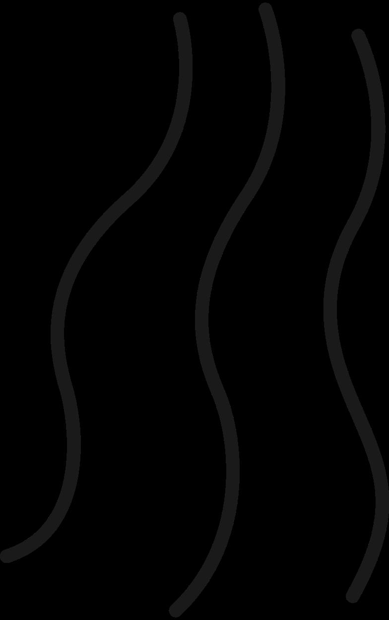 wave lines Clipart illustration in PNG, SVG
