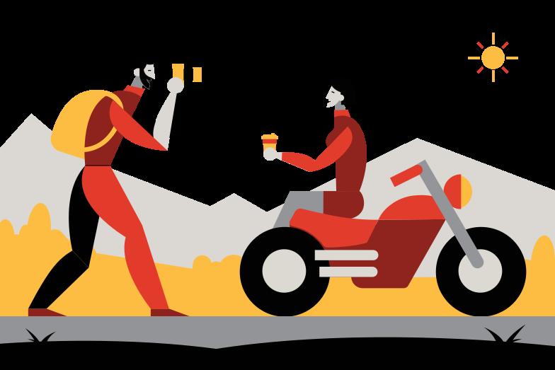 Road trip Clipart illustration in PNG, SVG