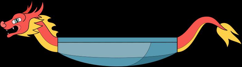 Drachenboot Clipart-Grafik als PNG, SVG