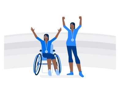 style Paralympians  images in PNG and SVG | Icons8 Illustrations