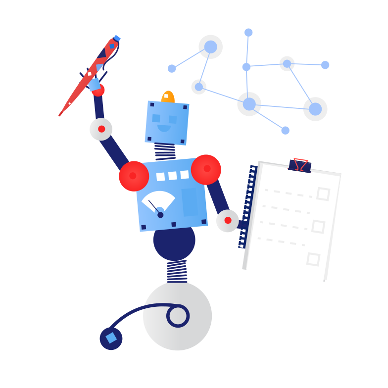 style Logistic robot Vector images in PNG and SVG | Icons8 Illustrations