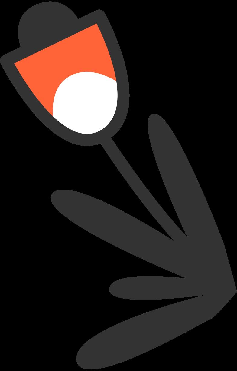 Ilustración de clipart de Mensaje enviado mensaje enviado flor en PNG, SVG