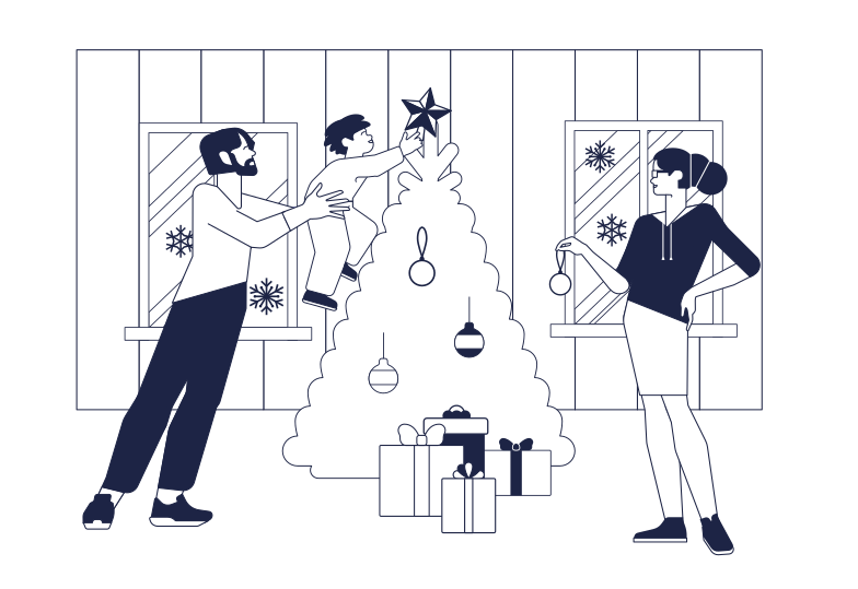 style Family Christmas Vector images in PNG and SVG | Icons8 Illustrations