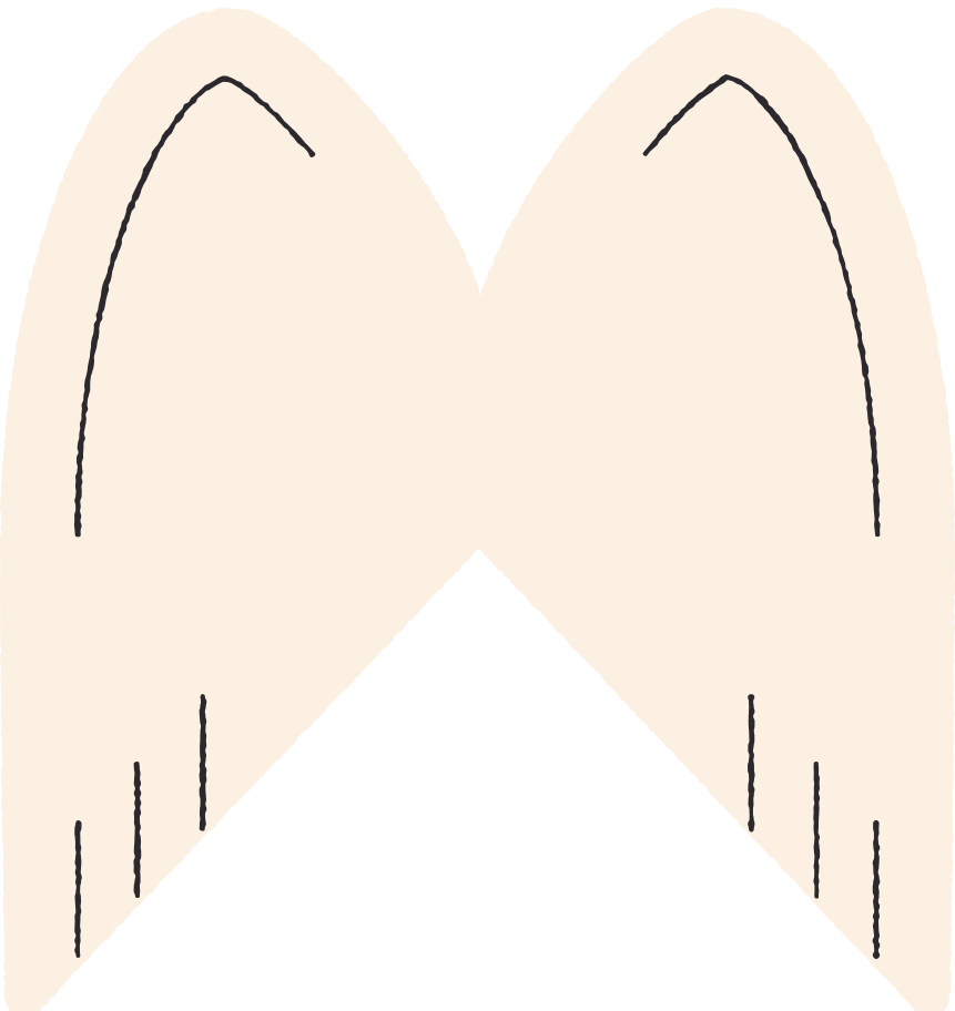 angel wings Clipart illustration in PNG, SVG