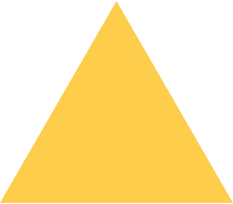 triangle-yellow Clipart illustration in PNG, SVG