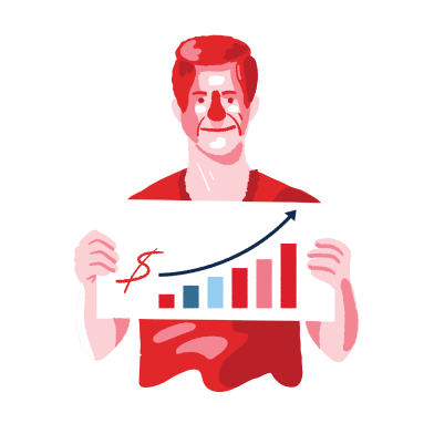 style Money growth images in PNG and SVG | Icons8 Illustrations