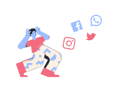 style Social media images in PNG and SVG | Icons8 Illustrations