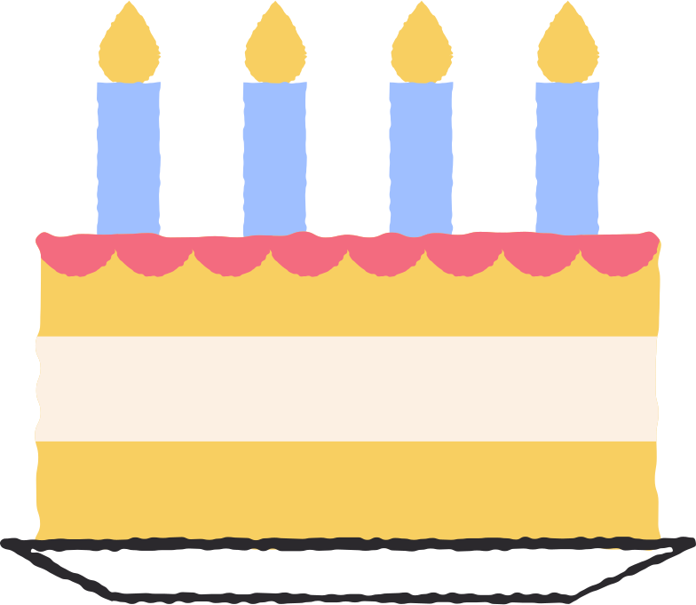 style birthday cake Vector images in PNG and SVG | Icons8 Illustrations