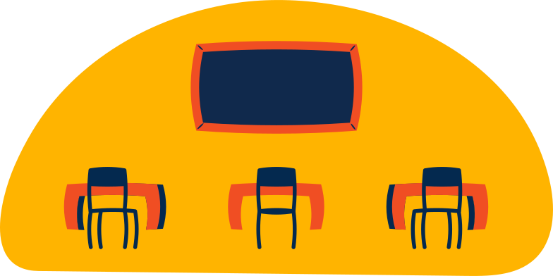 classroom Clipart illustration in PNG, SVG