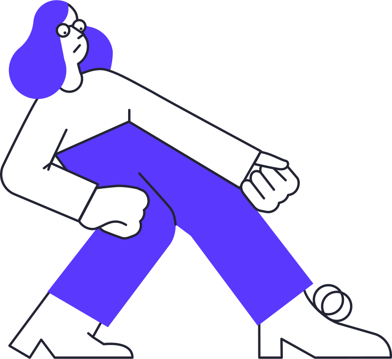 pulling woman Clipart illustration in PNG, SVG