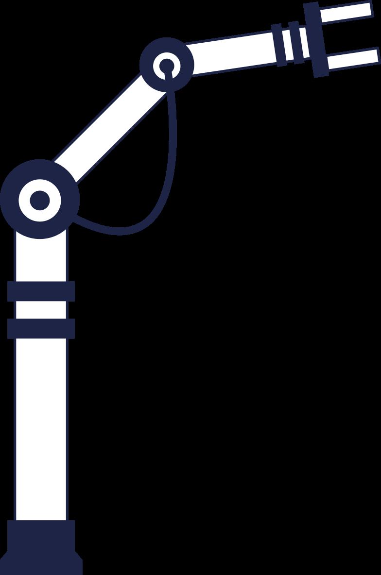 premium upgrade  robot 1 line Clipart illustration in PNG, SVG