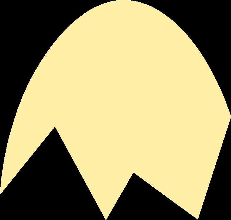 broken egg Clipart illustration in PNG, SVG