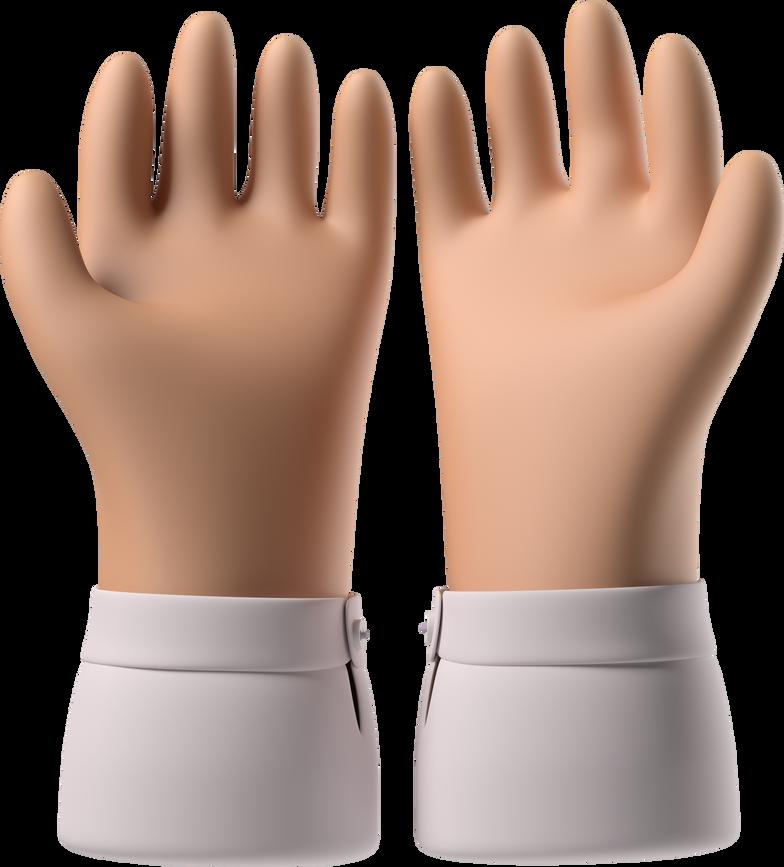 palms up together Clipart illustration in PNG, SVG