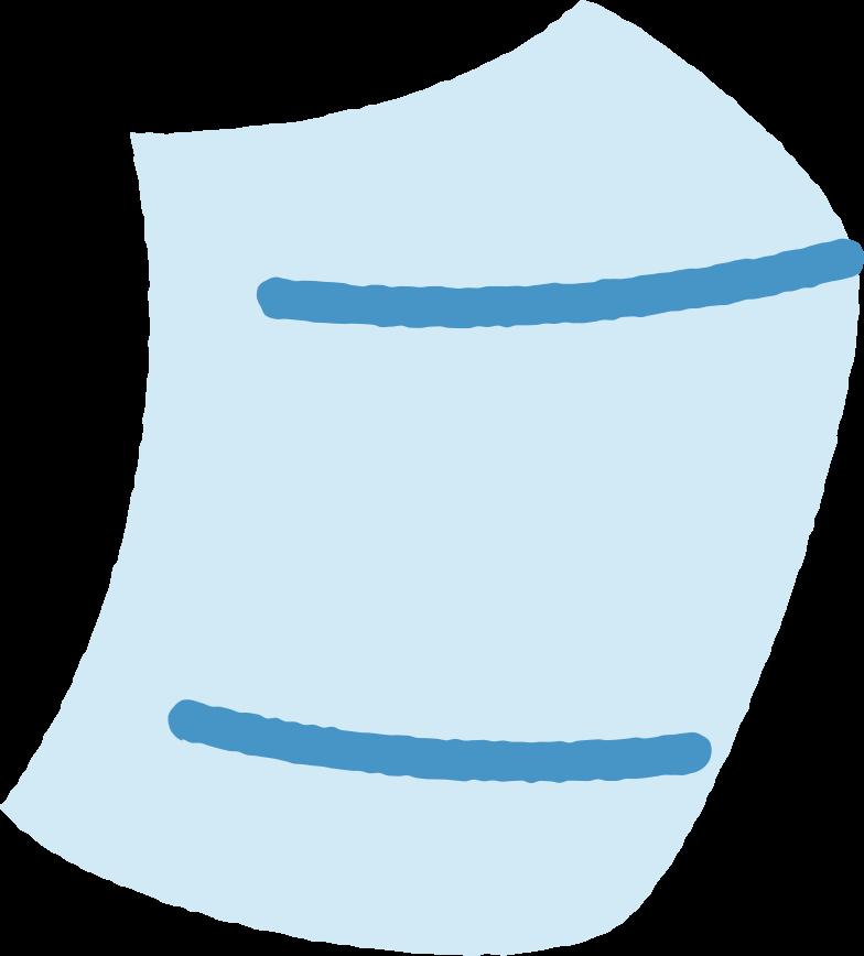 face mask Clipart illustration in PNG, SVG