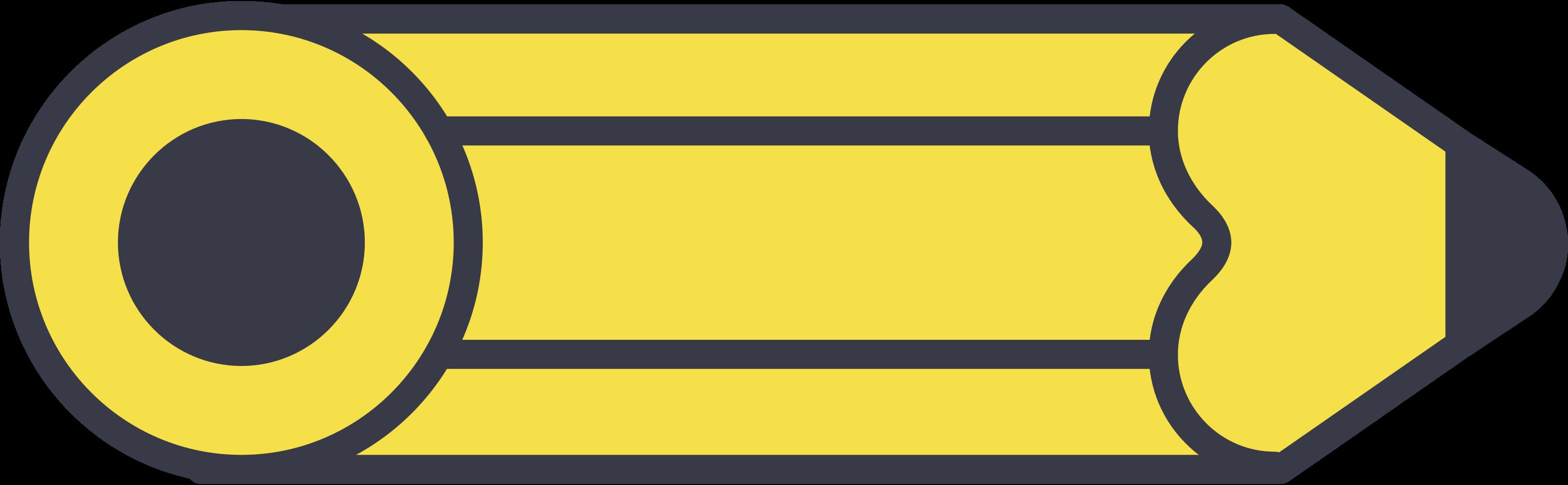 Ilustración de clipart de Lápiz en PNG, SVG