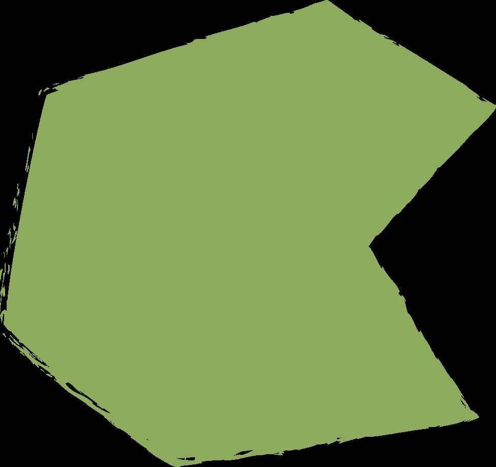 polygon-dark-green Clipart illustration in PNG, SVG