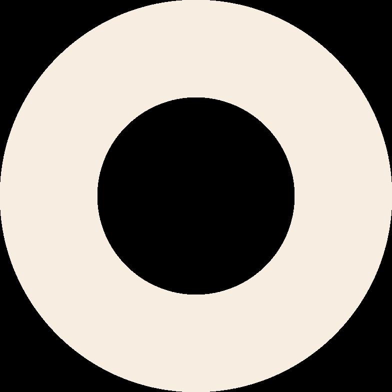 ring-beige Clipart illustration in PNG, SVG