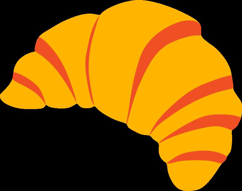 croissant Clipart-Grafik als PNG, SVG