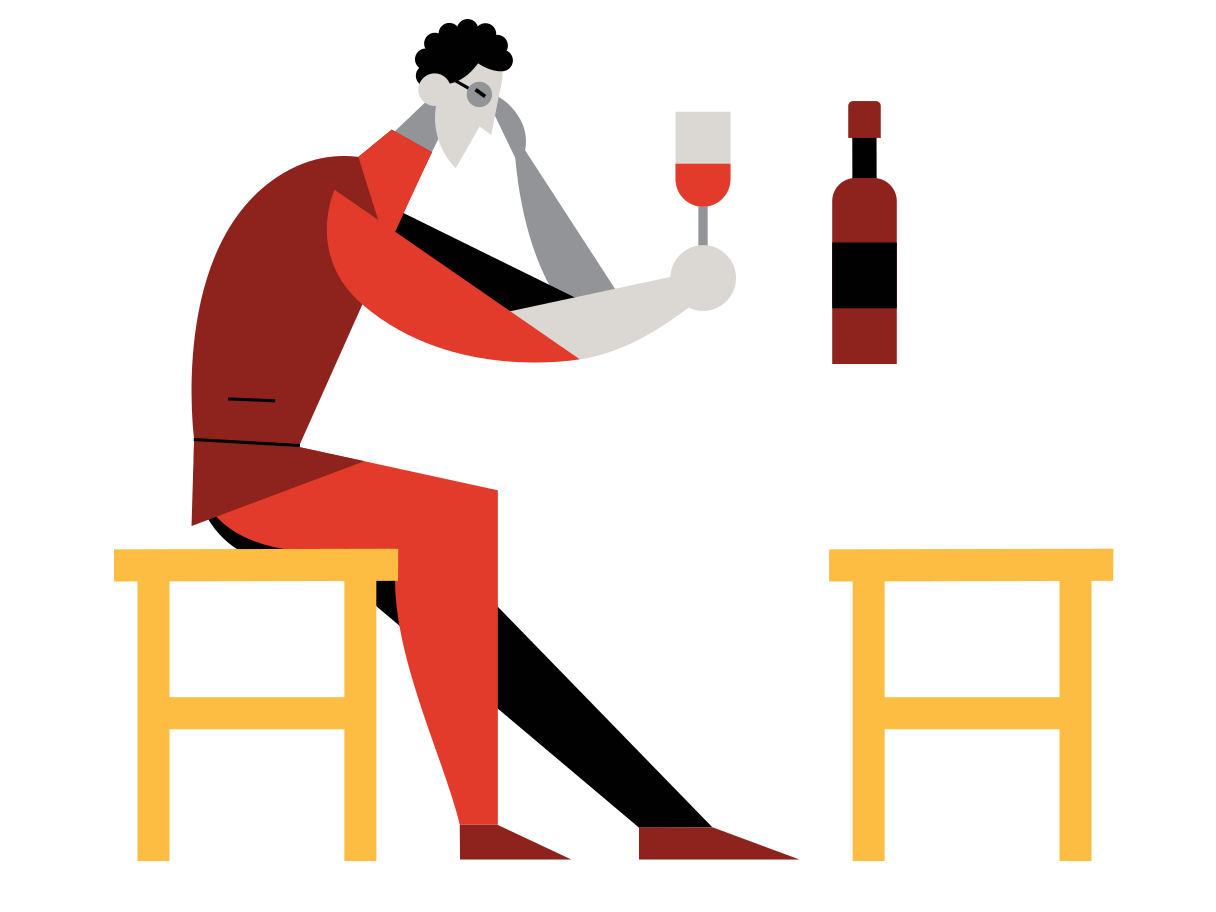 Quiet evening Clipart illustration in PNG, SVG