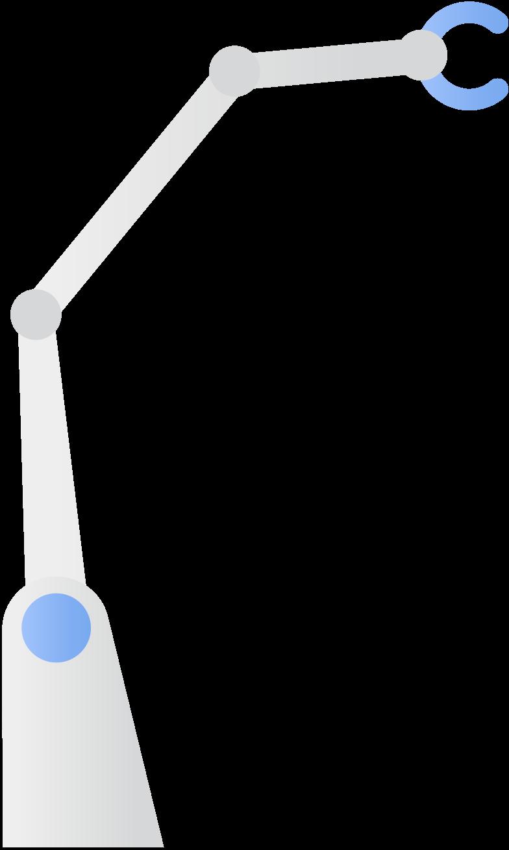 Industrieroboter Clipart-Grafik als PNG, SVG