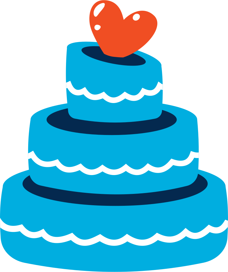 style cake with heart Vector images in PNG and SVG   Icons8 Illustrations