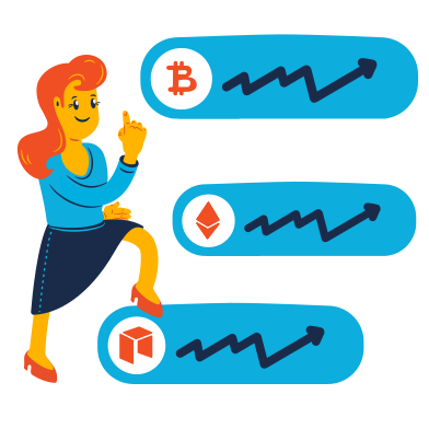 style Crypto portfolio images in PNG and SVG | Icons8 Illustrations