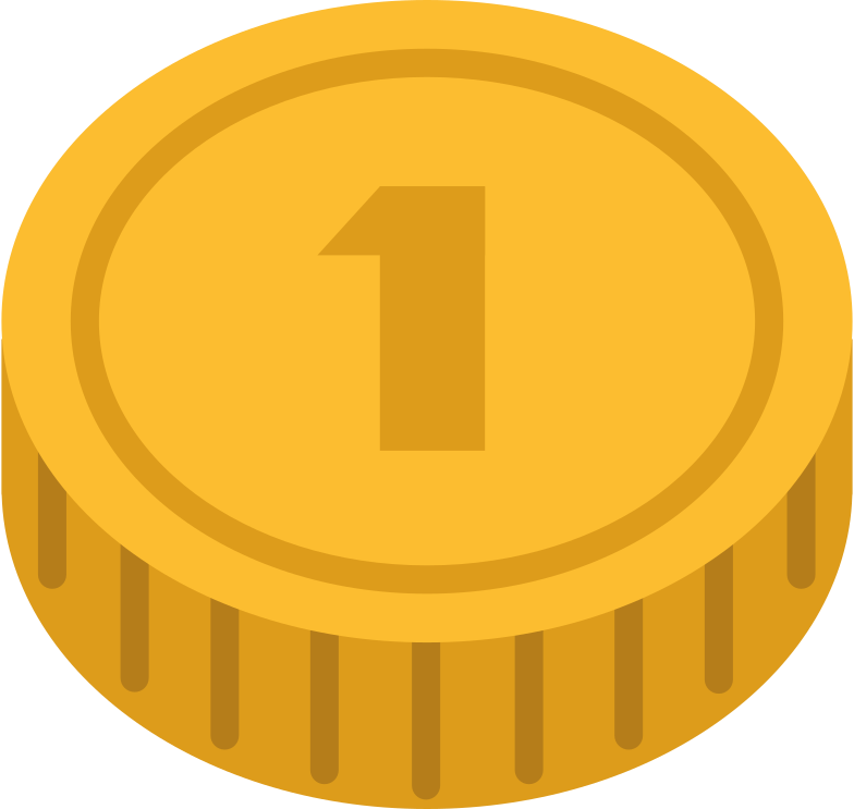 coin Clipart illustration in PNG, SVG