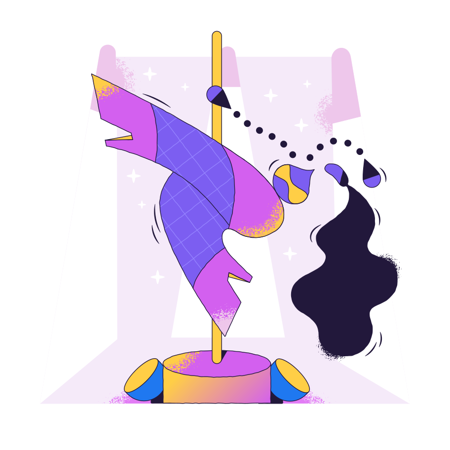 style Pole dancer Vector images in PNG and SVG   Icons8 Illustrations