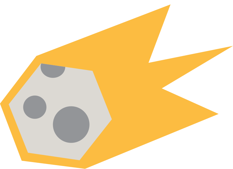 meteorite Clipart illustration in PNG, SVG
